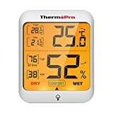 ThermoPro TP53 digitales Thermo-Hygrometer Thermometer Hygrometer...
