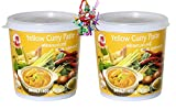 yoaxia ® - 2er Pack - [ 2x 400g ] COCK Gelbe Currypaste / Yellow Curry Paste +...