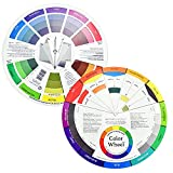 KLYNGTSK 2 Stück Color Guide Wheel Farbmischrad Farbmischung Farbrad...