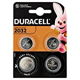 Duracell Specialty 2032 Lithium-Knopfzelle 3 V, 4er-Packung , mit Kindersichere...