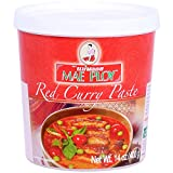 Mae Ploy Würzpaste Curry rot Cup (1 x 400 g)