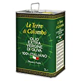Le Terre di Colombo – 100 Prozent Italienisches Natives Olivenöl Extra - Dose...